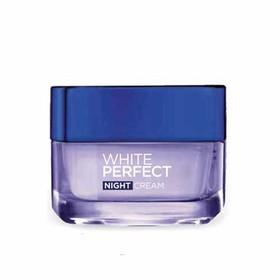 Kem Dưỡng trắng mịn đều màu Lorreal Paris White Perfect ban đêm 50ml - DD032-0