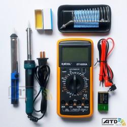 Bộ dụng cụ sửa chữa điện tử 2