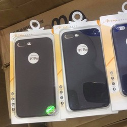 Ốp lưng silicon giả da VU iPhone 6 plus