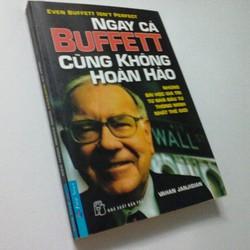 Sách Ngay Cả Buffett Cũng Không Hoàn Hảo