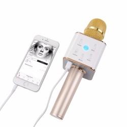 Q7 B usb rẻ Loa kèm micro 3 trong 1 kết nối Bluetooth - Mic kèm loa