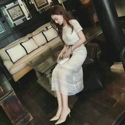 Đầm ren suông cao cấp