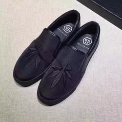 Giày nam mẫu mới,chất liệu vải da heo,độc và lạ