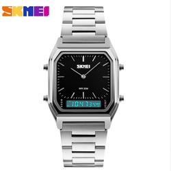 Đồng hồ điện tử 2 kênh Skmei AL92b-chỉ còn mặt đen