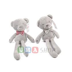 Gấu bông dễ thương có nơ Mamas Papas cho bé