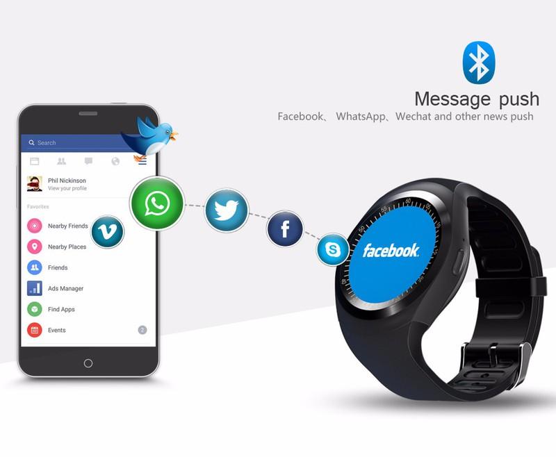 Đồng hồ thông minh Smartwatch Y1 2