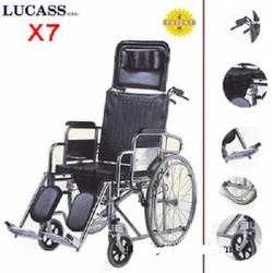 Xe lăn đa năng có bô Lucass X7