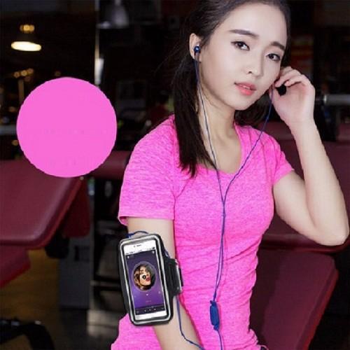 Bao da iphone gắn tay, chống nước, có phát quang
