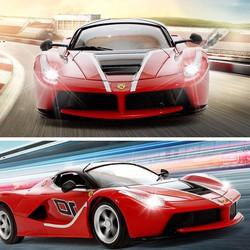 Xe thể thao Ferrari hai cửa mở tỉ lệ 1:18, tốc độ cao - Mã số XE 1702