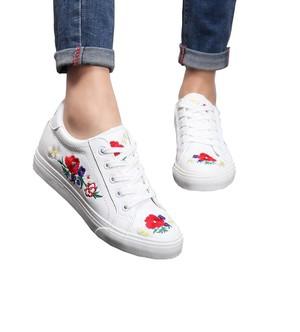 Giày Sneaker Thêu Hoa