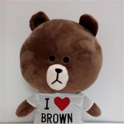 Gấu Brown - Thú nhồi bông Line