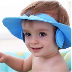 Mũ-nón tắm có vành che tai cho bé combo 2 cái