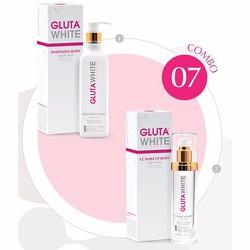 Bộ sản phẩm chăm sóc cơ thể toàn diện GLUTA WHITE