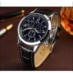 Đồng hồ dây da Yazole 271, phong cách