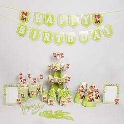 Set sinh nhật chủ đề tuổi Sửu - Trâu
