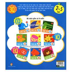 MIẾNG DÁN THẦN KỲ - IQ-EQ-CQ - bộ 9 cuốn Combo 3 cuốn 4-5 tuổi