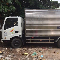 Bán xe tải cũ veam vt200 1t9 vào thành phố thùng kín inox