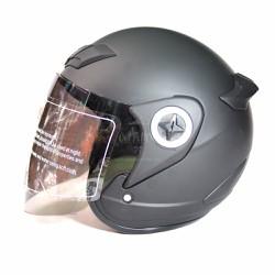 Mũ Bảo Hiểm Có Kính Asia M115 - Đen Nhám