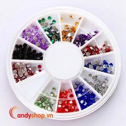 Combo 2 hộp đá đính móng tay - hạt đá đính candyshop88.com
