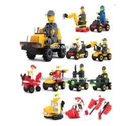 Ghép hình lego các phương tiện Submarine