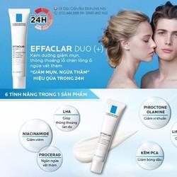 Trị Mụn La Roche Posay Effaclar Duo+ 40ml