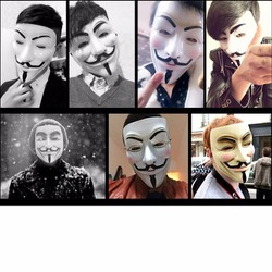 Mặt nạ Guy Fawkes - Mặt nạ Guy Fawkes