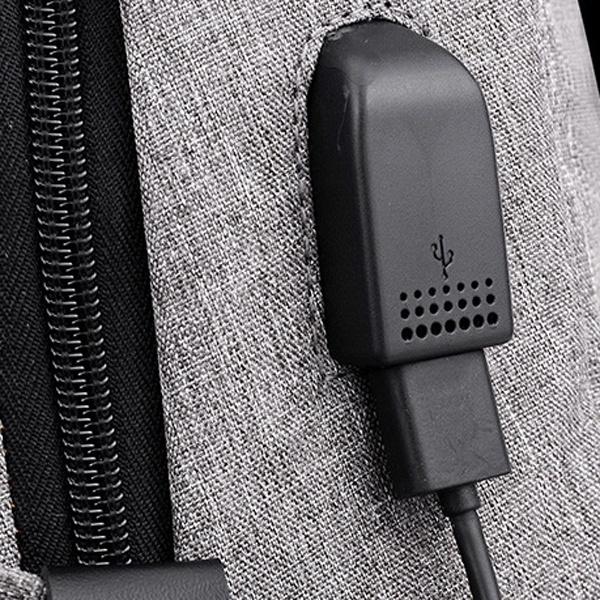 Balo du lịch có cổng xạc tặng cáp USB 17