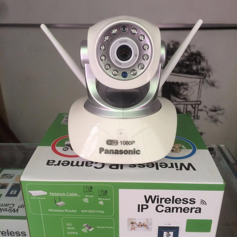 CAMERA KHÔNG DÂY IP WIFI HS-6100 Siêu Nét 360 ĐỘ FULL HD1080P 2