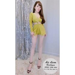 Đầm body thiết kế _MỎ CHU SHOP