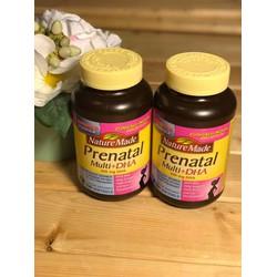 Vitamin tổng hợp cho bà bầu Nature Made Prenatal Multi + DHA