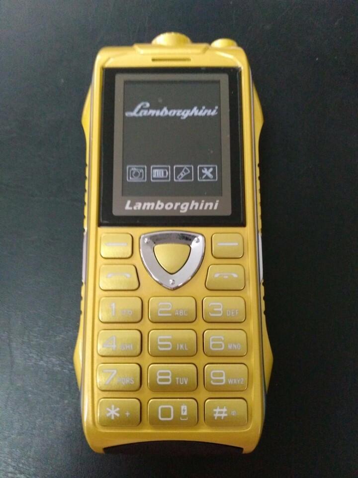 Điện thoại độc Lamborghini LB69 pin khủng 18000mAh 2