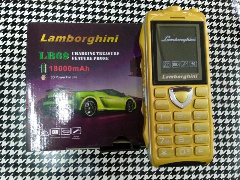 Điện thoại độc Lamborghini LB69 pin khủng 18000mAh 4