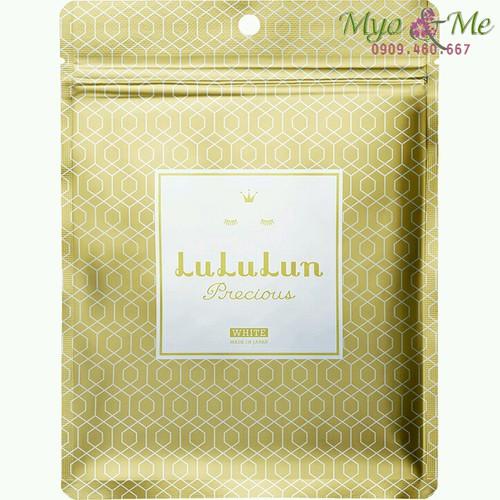 Mặt nạ Lululun Precious vàng túi 7 miếng