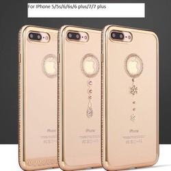 Ốp lưng viền đá IPhone 5