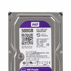 Ổ cứng PC Western Purple 500GB SATA 3 CHUYÊN DỤNG CHO CAMERA