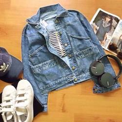 áo khoát jean