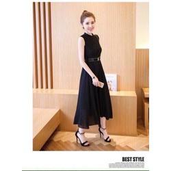 Đầm Vintage Phối Ren