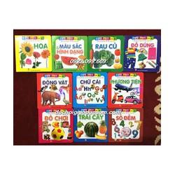 Từ điển hình ảnh cho bé - Bộ 10 cuốn Trái cây
