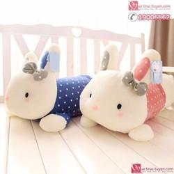 Gối ôm gấu bông hình thỏ