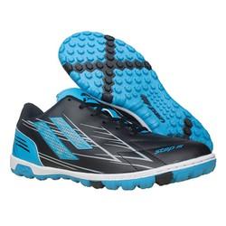 Giày đá banh cỏ nhân tạo Pan Step III đen xanh – P0S2