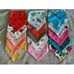 set 3 khăn yếm tam giác