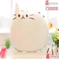 Mèo bông Pusheen trắng