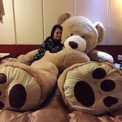 Gấu bông khổng lồ 2m Teddy Costco