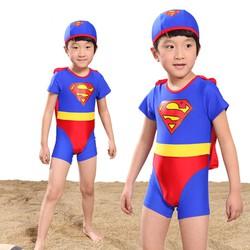 Bộ quần áo siêu nhân kèm nón
