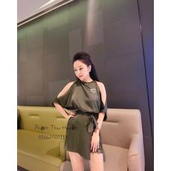 Đầm khoét tay _MỎ CHU SHOP