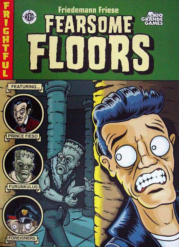 FEARSOME FLOORS- CHẠY TRỐN QUÁI VẬT 1