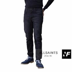 Quần jeans đen ống đứng