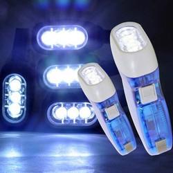 Đèn pin tự sạc không dùng pin