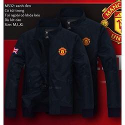 M532 áo khoác dù nam MU cờ anh