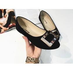 Giày bệt vuông